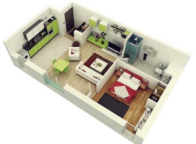 33 mẫu thiết kế căn hộ chung cư đẹp ấn tượng nhất 27
