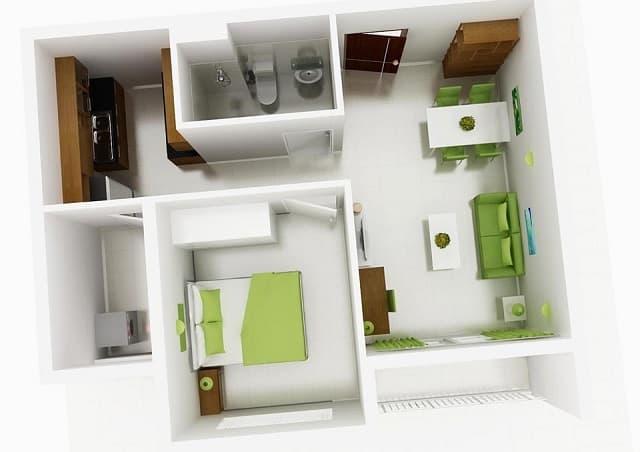 33 mẫu thiết kế căn hộ chung cư đẹp ấn tượng nhất 28