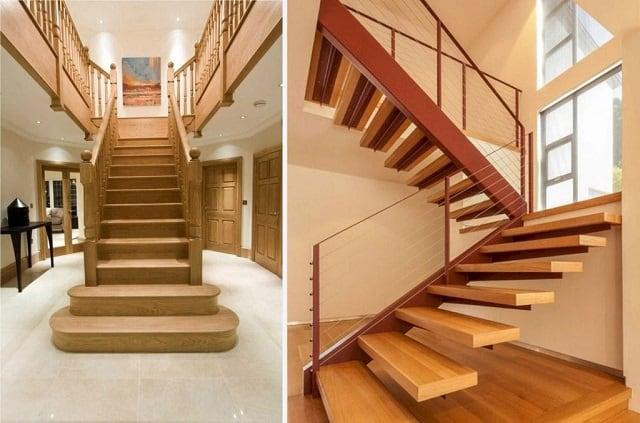 Nên chọn chất liệu cầu thang phù hợp ngôi nhà