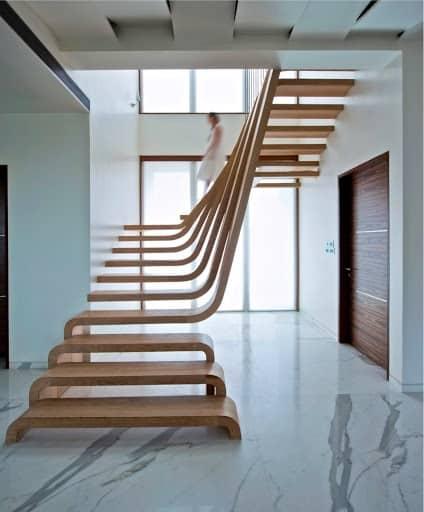 Vị trí gầm cầu thang vẫn có thể tận dụng