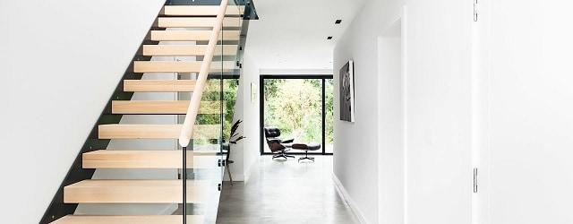 Cầu thang đặc biệt với ý tưởng xếp chống các khối gỗ lên nhau