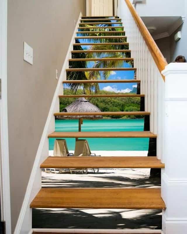 Một mẫu cầu thang đơn giản lại vô cùng tinh tế