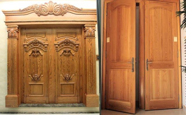 Kích thước của cửa phải cân đối với ngôi nhà