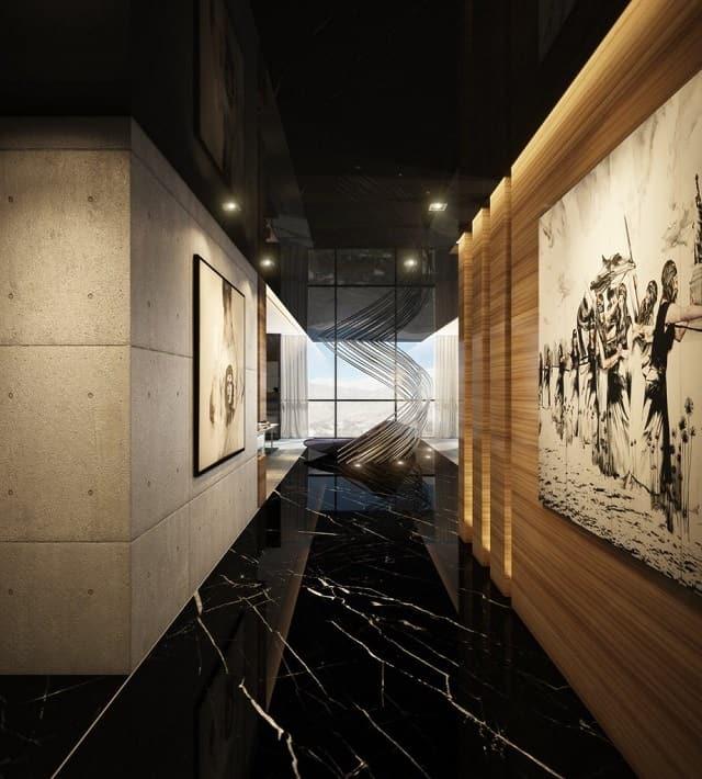 33 mẫu thiết kế hành lang đẹp ấn tượng nhất 22