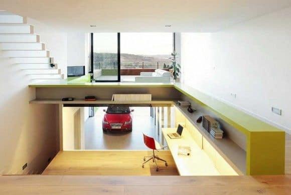 33 mẫu thiết kế nhà để xe đẹp ấn tượng nhất 8
