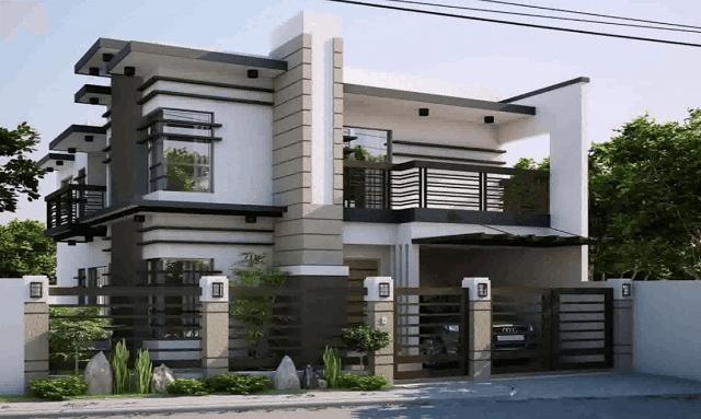 33 mẫu thiết kế nhà để xe đẹp ấn tượng nhất 17
