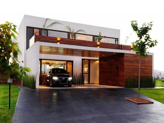 33 mẫu thiết kế nhà để xe đẹp ấn tượng nhất 19