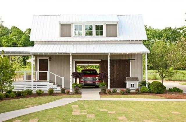 33 mẫu thiết kế nhà để xe đẹp ấn tượng nhất 20
