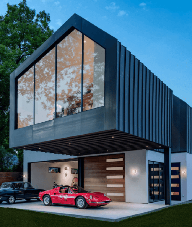 33 mẫu thiết kế nhà để xe đẹp ấn tượng nhất 21