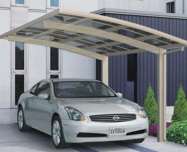 33 mẫu thiết kế nhà để xe đẹp ấn tượng nhất 24