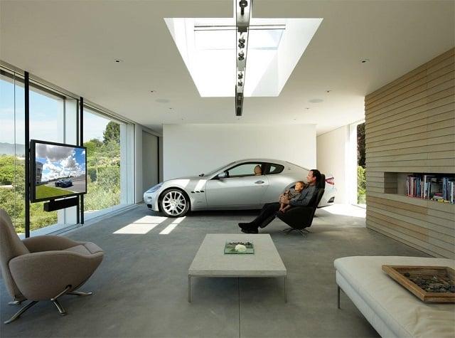 33 mẫu thiết kế nhà để xe đẹp ấn tượng nhất 9