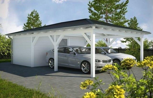 33 mẫu thiết kế nhà để xe đẹp ấn tượng nhất 28