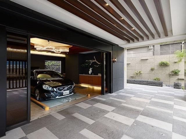 33 mẫu thiết kế nhà để xe đẹp ấn tượng nhất 10