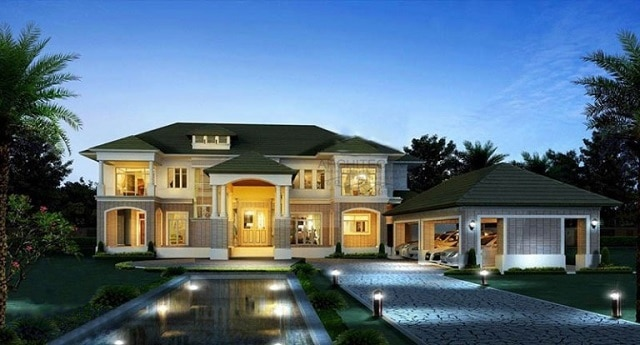 33 mẫu thiết kế nhà để xe đẹp ấn tượng nhất 5