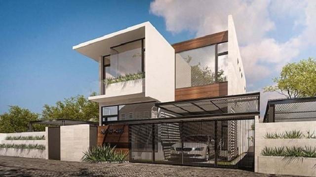 33 mẫu thiết kế nhà để xe đẹp ấn tượng nhất 6