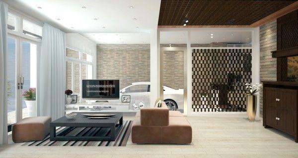 33 mẫu thiết kế nhà để xe đẹp ấn tượng nhất 11
