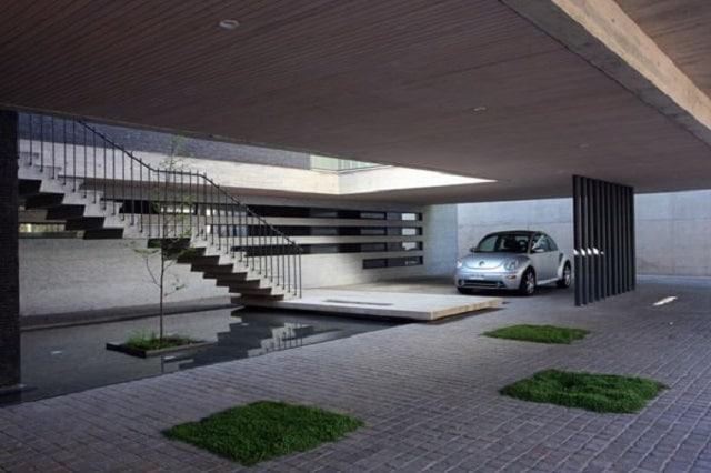 33 mẫu thiết kế nhà để xe đẹp ấn tượng nhất 12