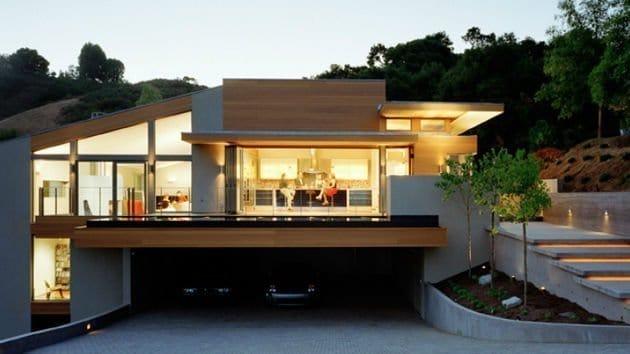33 mẫu thiết kế nhà để xe đẹp ấn tượng nhất 15