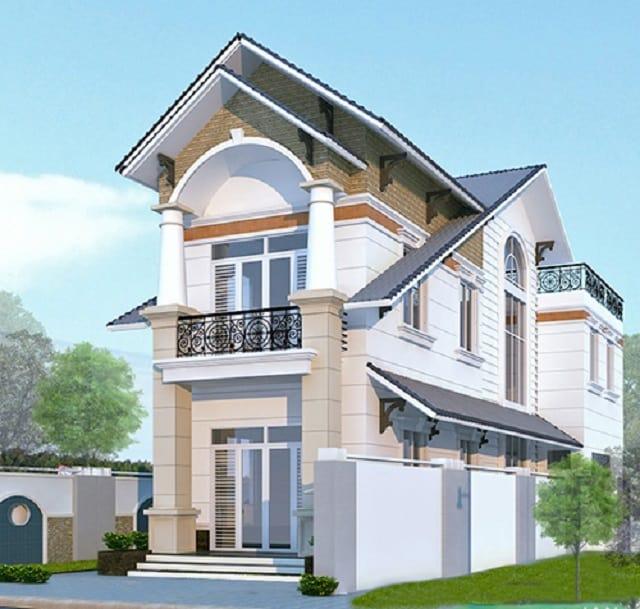 Mái thái màu xanh chữ A mang đến nhiều ưu điểm trong sử dụng