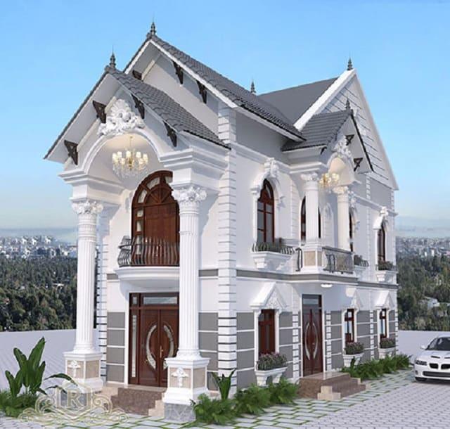 Nhà mái Thái cách điệu với các khối hình đặc biệt tạo nét độc đáo