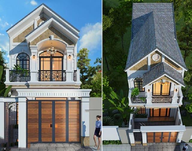 Mẫu nhà 2 tầng mái thái được đánh giá cao về chất lượng
