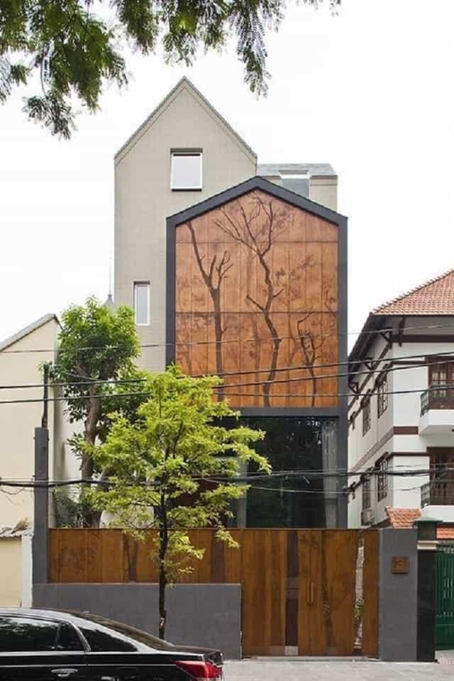 Nên chọn các gam màu trắng hay ghi để tôn lên nét đẹp nền nã nhà mái thái