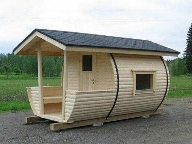 Nhà gỗ theo kiểu kiến trúc cổ điển