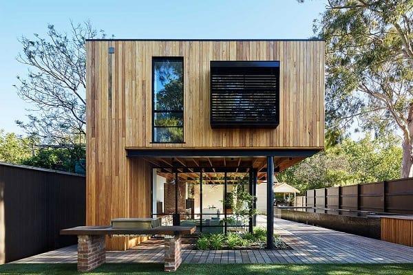 Mẫu nhà gỗ như kiểu thiết kế khu nghỉ dưỡng