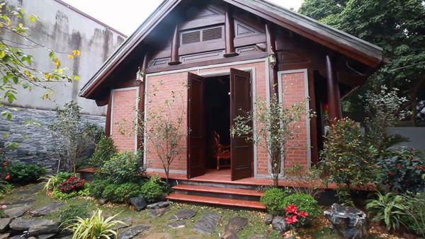 Nhà gỗ kết hợp gạch kiểu truyền thống