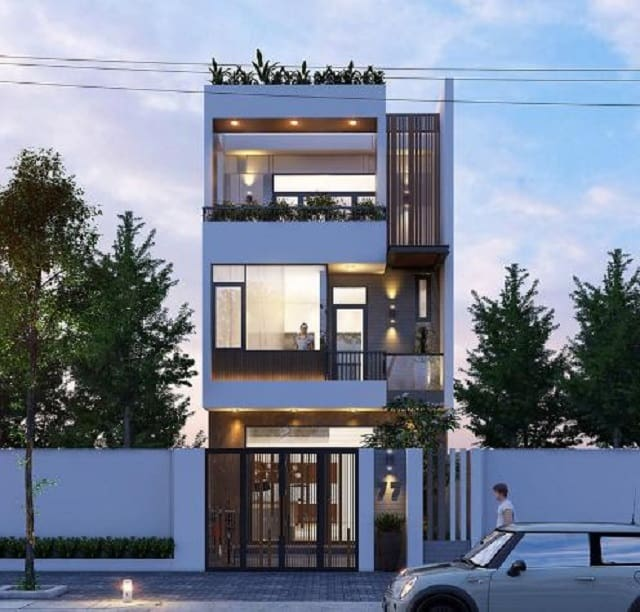 Nhà ống 3 tầng phù hợp các ngôi nhà mặt phố