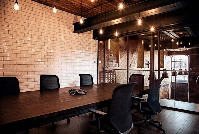 Phòng họp diện tích rộng thiết kế chuyên nghiệp