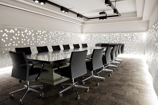 Mẫu thiết kế phòng họp đẹp, đa năng cho không gian nhỏ