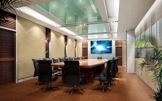 Phòng họp sáng tạo với nội thất độc đáo
