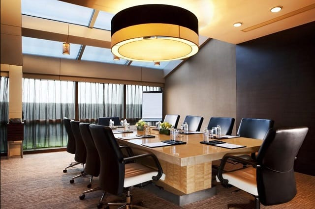 Phòng họp với nhiều điểm nhấn trong trang trí