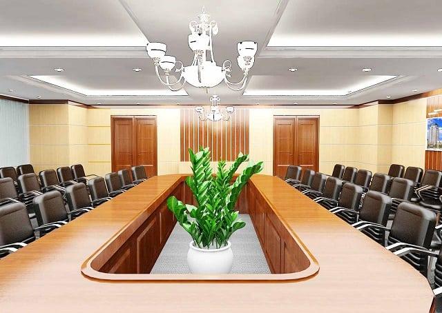 Mẫu phòng họp thích hợp cho các doanh nghiệp kinh doanh xe