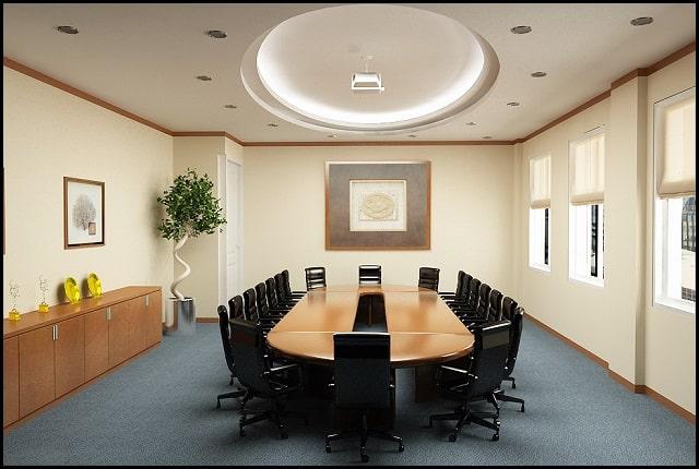 Phòng họp đơn giản là mẫu mà nhiều doanh nghiệp ưa chuộng
