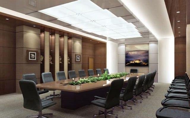 Ánh sáng cho phòng họp là rất quan trọng