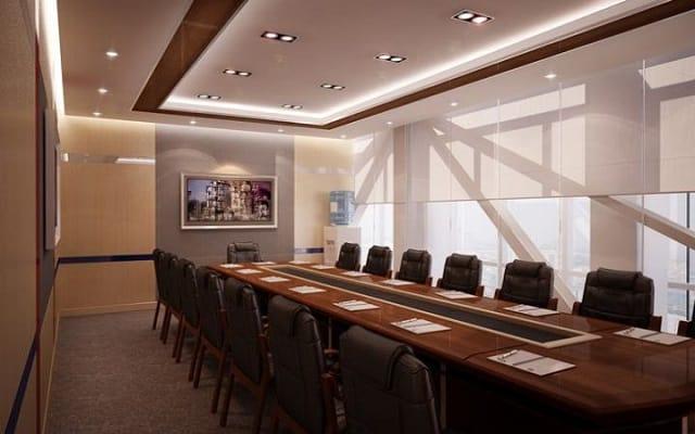 Không gian phòng họp lớn rất cần cảm giác thoáng mát