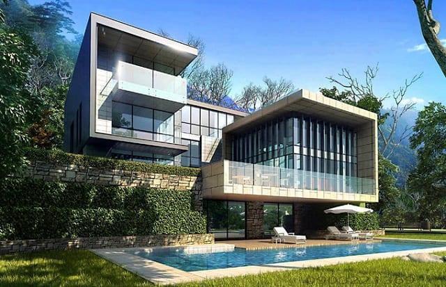33 mẫu thiết kế villa biệt thự đẹp ấn tượng nhất 12