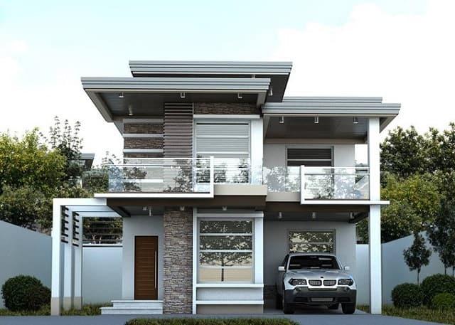 33 mẫu thiết kế villa biệt thự đẹp ấn tượng nhất 17