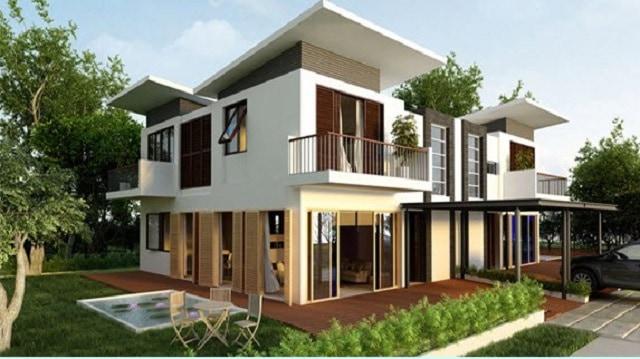 33 mẫu thiết kế villa biệt thự đẹp ấn tượng nhất 20
