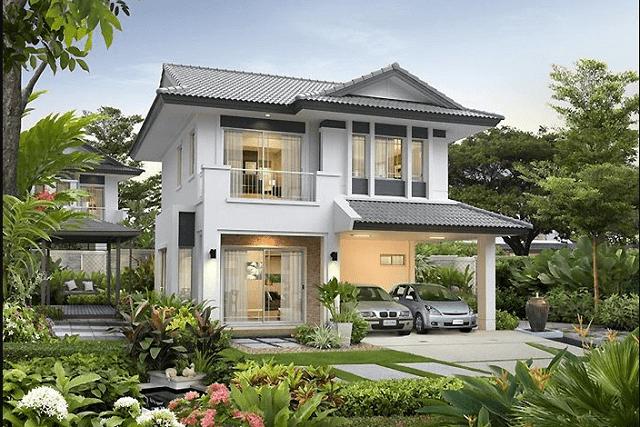 33 mẫu thiết kế villa biệt thự đẹp ấn tượng nhất 11