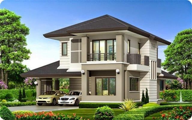 33 mẫu thiết kế villa biệt thự đẹp ấn tượng nhất 4
