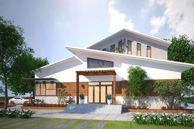 33 mẫu thiết kế villa biệt thự đẹp ấn tượng nhất 5