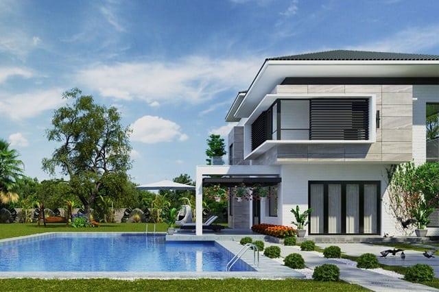 33 Mẫu Thiết Kế Villa Biệt Thự Đẹp Ấn Tượng Nhất 6