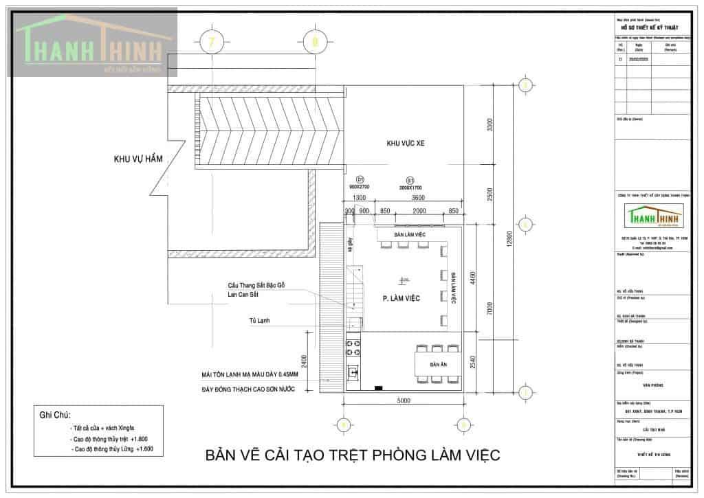 Sửa Chữa Cải Tạo Văn Phòng Quận Bình Thạnh, HCM 1