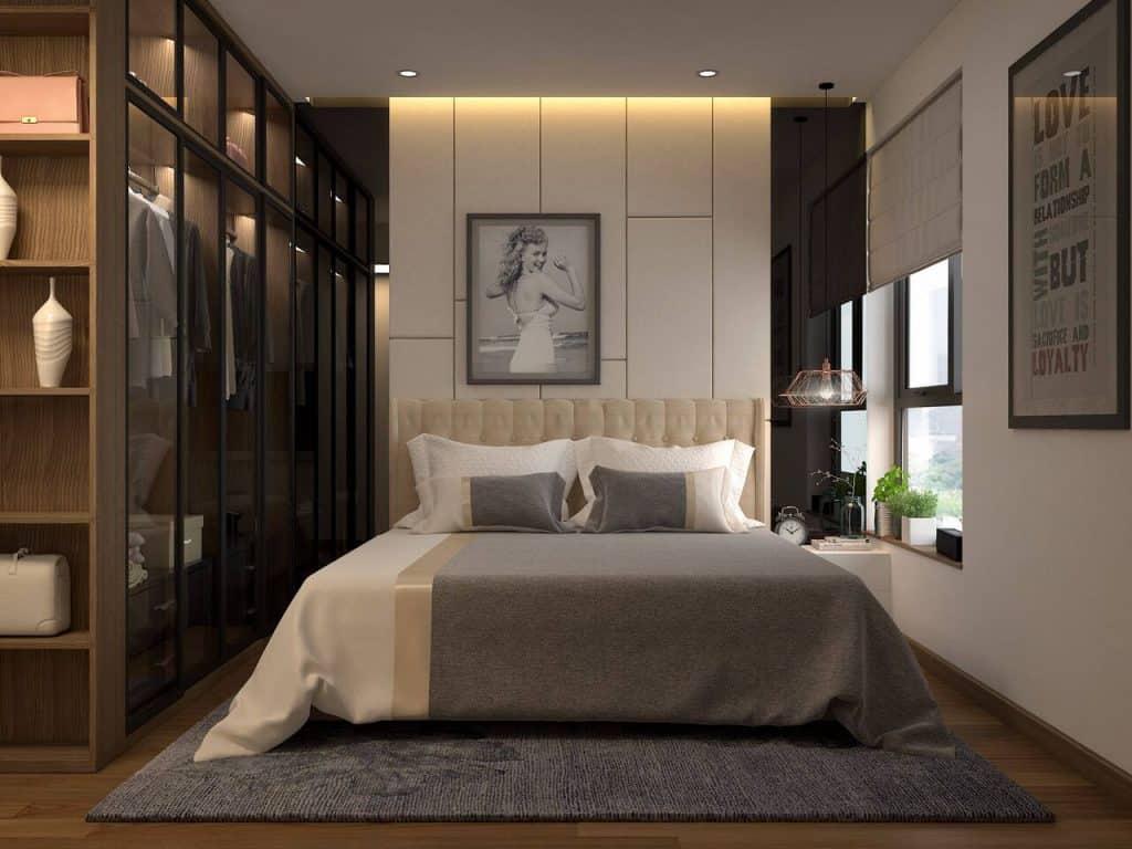 Phòng ngủ sẽ thoáng đãng hơn nếu thêm vào đó chiếc cửa sổ