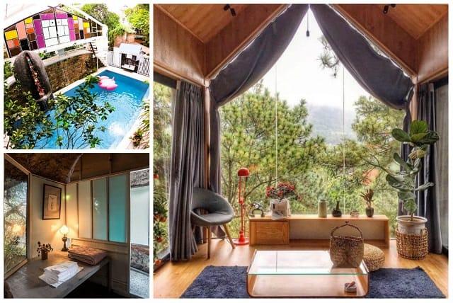 Không gian trong Homestay thiết kế gần gũi với thiên nhiên, thơ mộng và lãng mạn