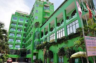 Mẫu khách sạn được thiết kế với kiểu dáng riêng biệt cùng những không gian chức năng hấp dẫn