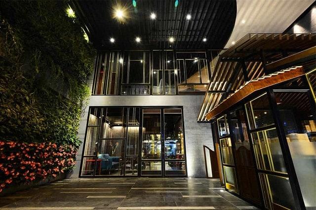 Khách sạn có thiết kế nhỏ gọn nhưng vẫn đảm bảo gây ấn tượng với khách hàng